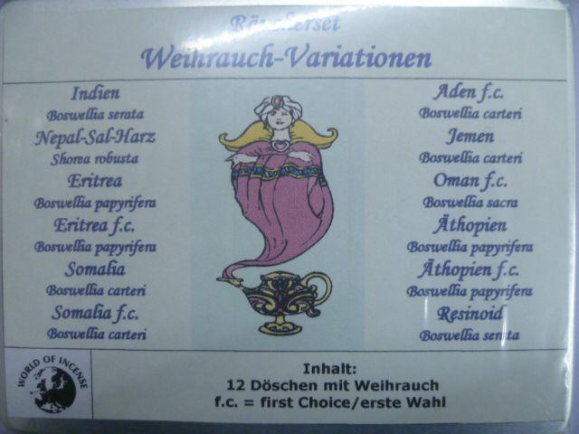 RM Weihrauch-Variationen